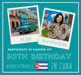 Leetchi fundraising to travel to Cuba