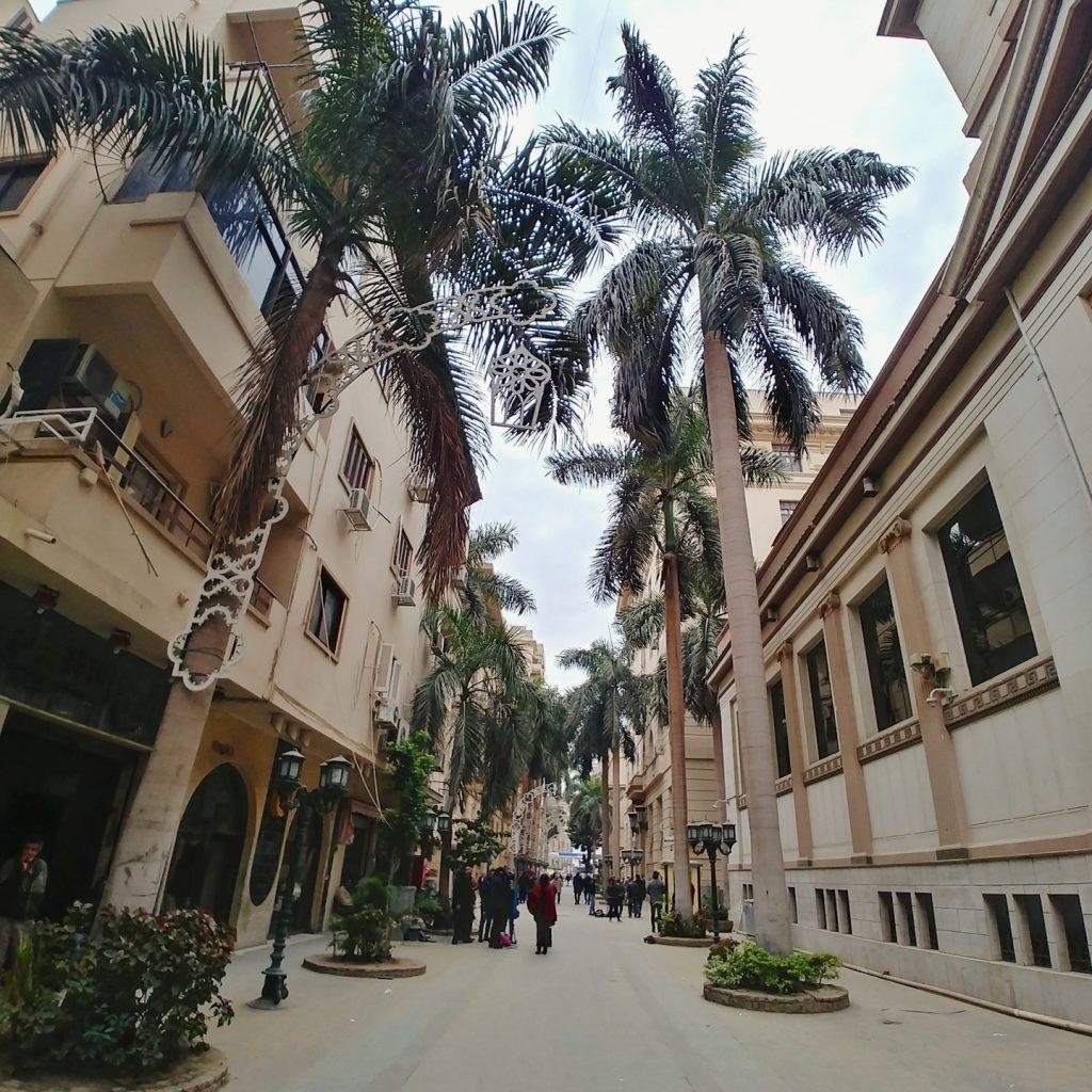 downtown cairo pedestrian street