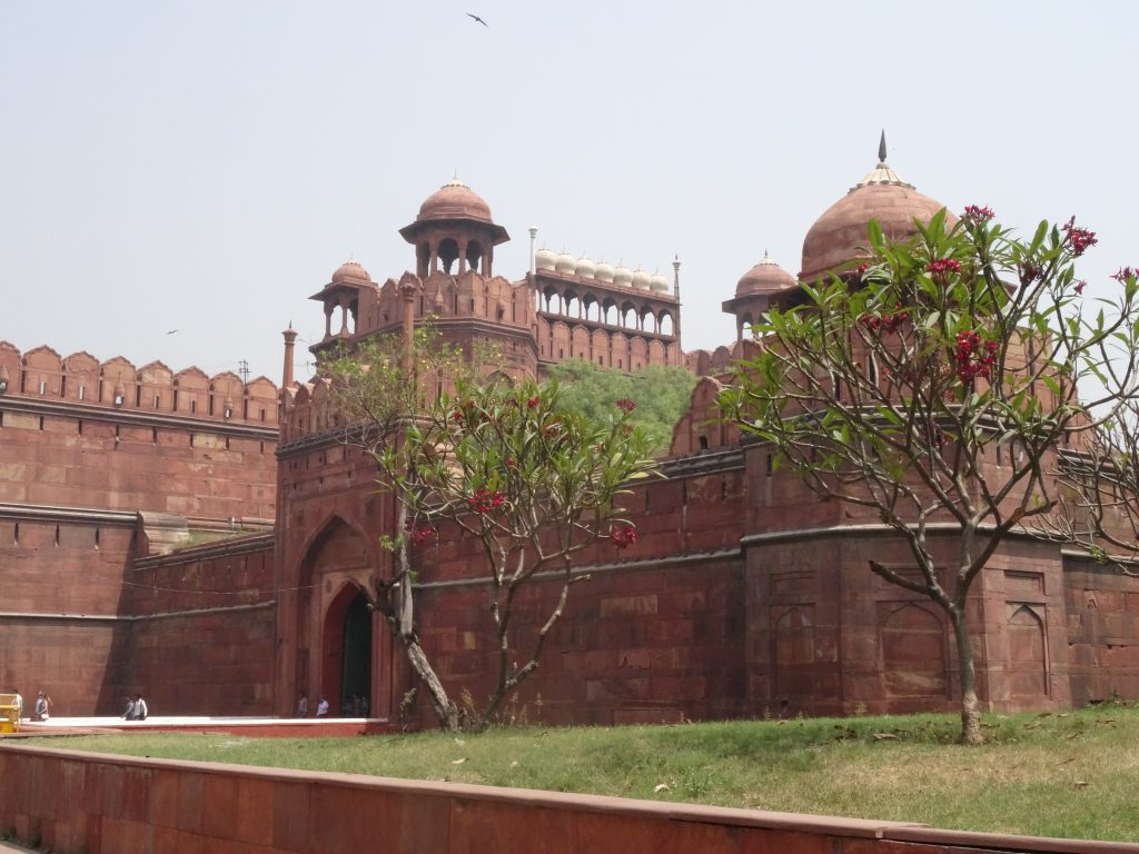 entrance gate of the Red Fort in Delhi