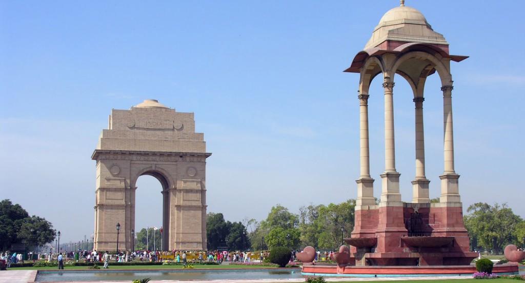 Memorial Dehli India Gate
