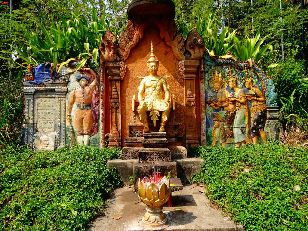 memorial of the re-ownership of the Provinces of Battambang, Siem Reap and Sisophon