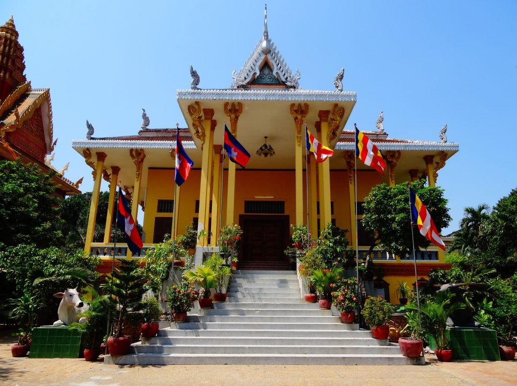 the main pagoda of the Wat Ounalom