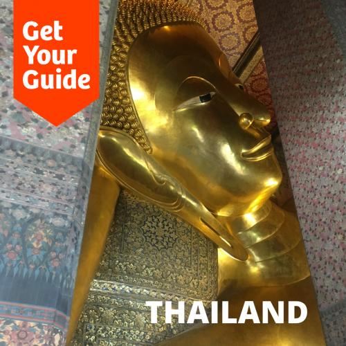 Giant Buddha sleeping in Bangkok
