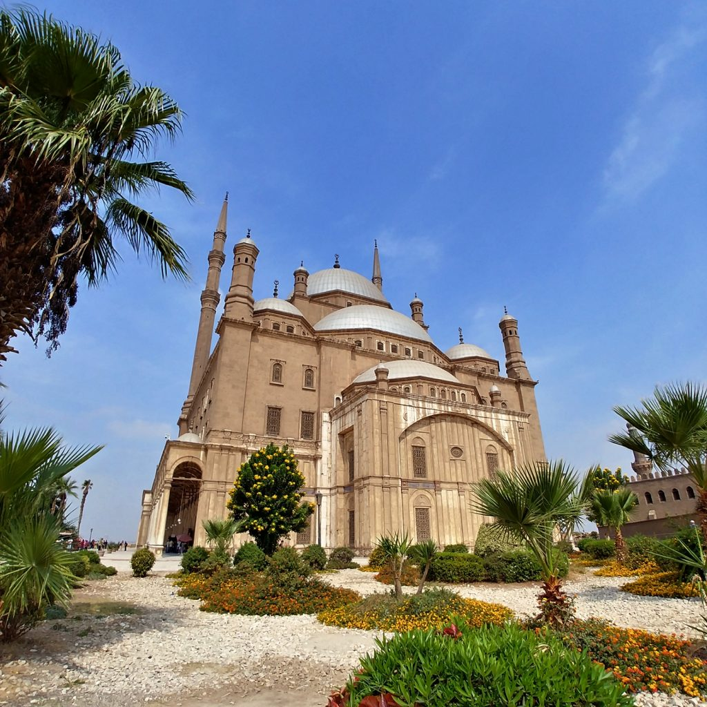 Landscape view Citadel of Saladin - Cairo
