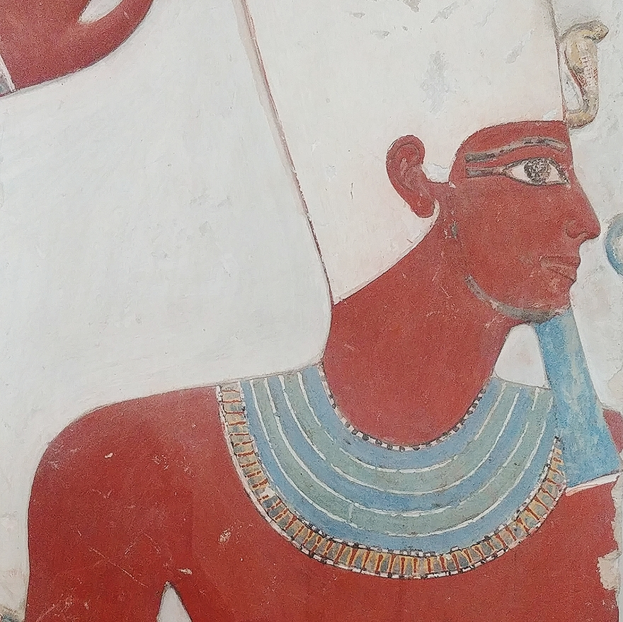 ancient egyptian painting from cairo egyptian museum