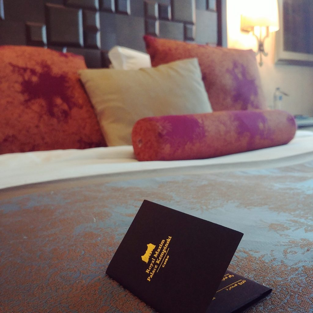 room view Kempinski Royal Maxim - Cairo