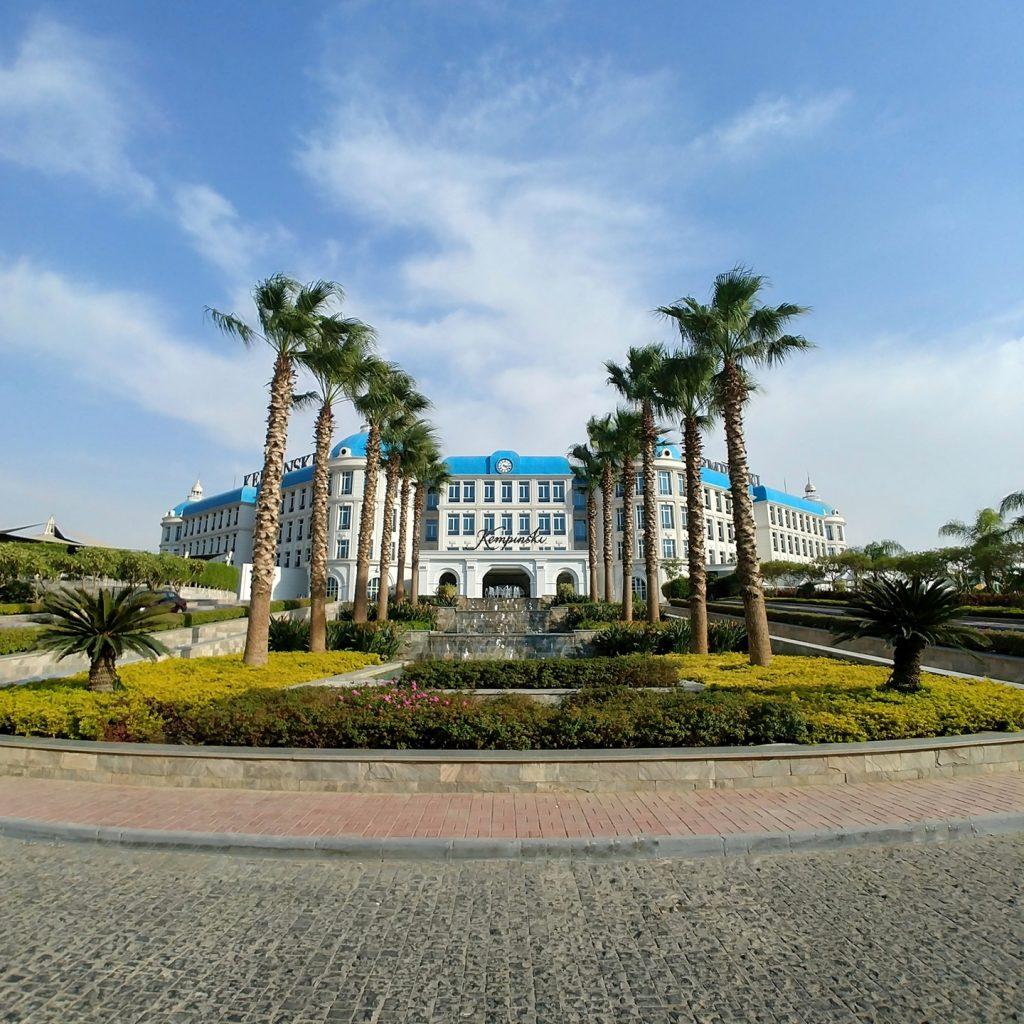main entrance view Kempinski Royal Maxim - Cairo