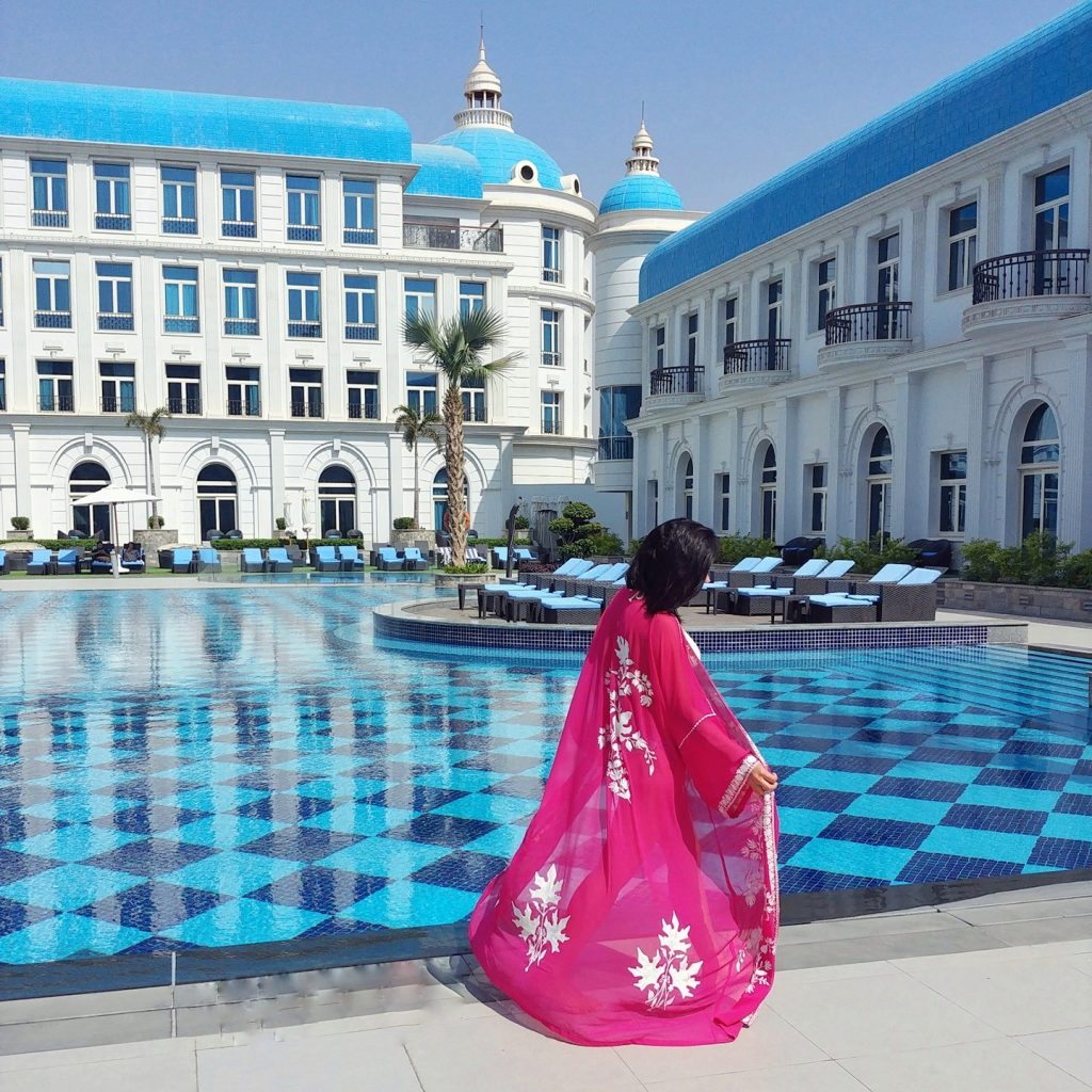 pool view Kempinski Royal Maxim - Cairo